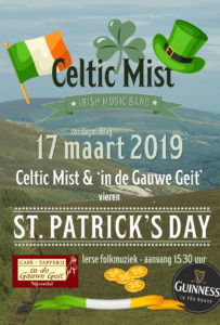 St.Patricks Day Gauwe Geit, Celtic Mist