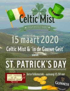 Celtic Mist viert St. Patrick's Day